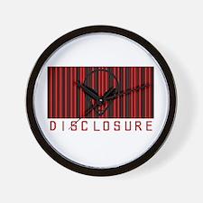 Alien Disclosure Wall Clock