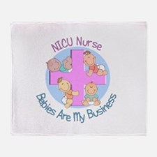 Baby Nurses Throw Blanket