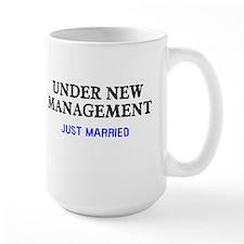 Under New Management Married Mug