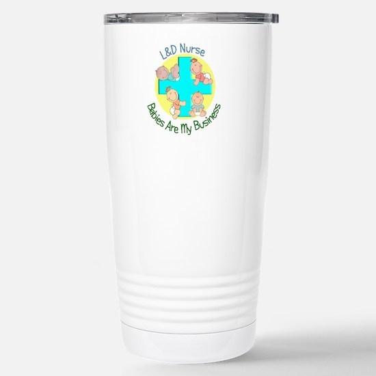 L&D Nurse Stainless Steel Travel Mug