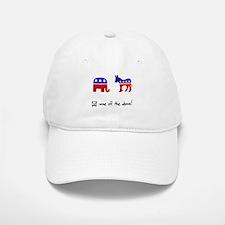 No Republicans or Democrats Baseball Baseball Cap