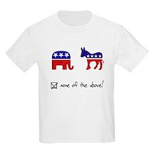 No Republicans or Democrats T-Shirt