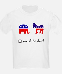 No Republicans or Democrats T-Shirt