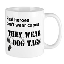 Real Heroes Don't Wear Capes Mug