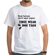 Real Heroes Don't Wear Capes Shirt