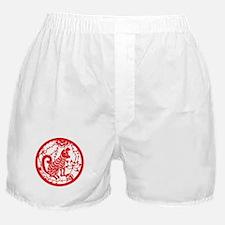 Dog Zodiac Boxer Shorts
