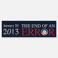 End of Error Bumper Bumper Sticker