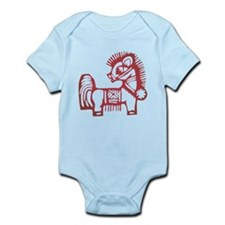 Horse Zodiac Infant Bodysuit