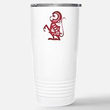 Monkey Zodiac Travel Mug