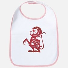 Monkey Zodiac Bib