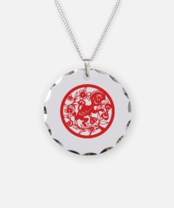 Monkey Zodiac Necklace