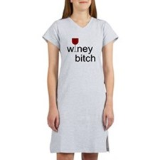 Winey Bitch Women's Nightshirt