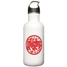 Pig Zodiac Water Bottle