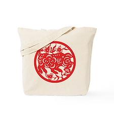 Pig Zodiac Tote Bag