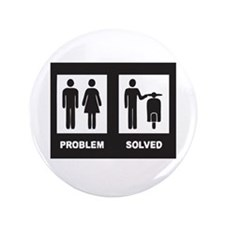 """Funny Accident 3.5"""" Button (100 pack)"""