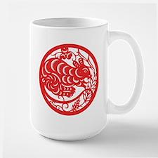 Rat Zodiac Large Mug