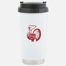 Rooster Zodiac Travel Mug