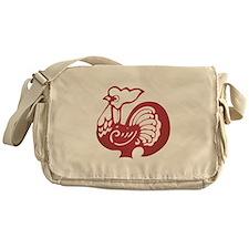 Rooster Zodiac Messenger Bag