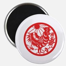 """Rooster Zodiac 2.25"""" Magnet (100 pack)"""
