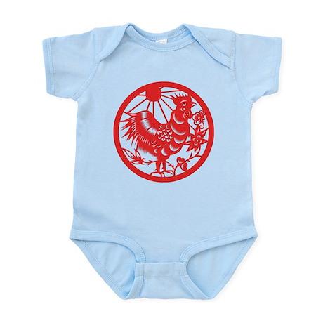 Rooster Zodiac Infant Bodysuit