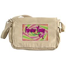 forever young Messenger Bag