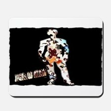 the jigsaw man Mousepad