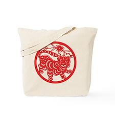 Tiger Zodiac Tote Bag