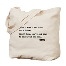 'Cheers Quote' Tote Bag