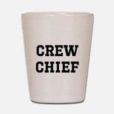 Crew Chief (Light) Shot Glass