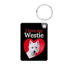 Westie Keychains