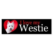 Westie Bumper Sticker
