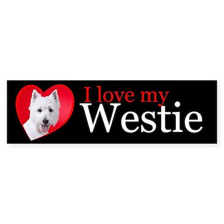 Westie Sticker (Bumper)