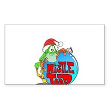 Mistle Toad Ornament Decal