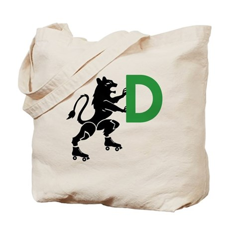 Tote Bag - Lioness (Front) w/ Green Logo (Back)