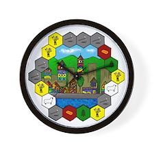 Cute Hexagon Wall Clock