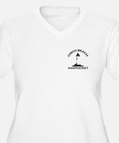 "Cisco Beach ""Lighthouse"" Design. T-Shirt"