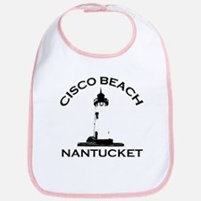 "Cisco Beach ""Lighthouse"" Design. Bib"