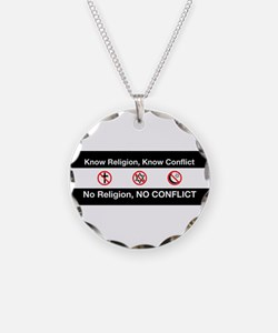 No Religion, No Conflict Necklace