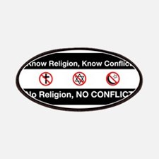 No Religion, No Conflict Patches