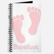Barefoot Pink - Foot Prints Journal
