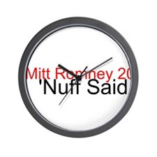 Mitt Romney Wall Clock