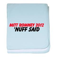 Mitt Romney baby blanket