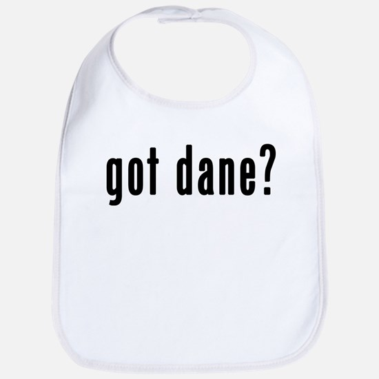GOT DANE Bib