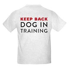 Dog in Training Kids Light T-Shirt