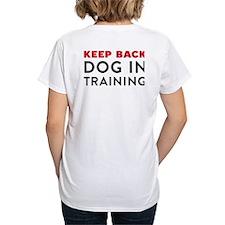 Dog in Training Women's V-Neck T-Shirt