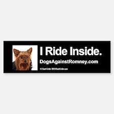 Bumper Sticker (Yorkie)