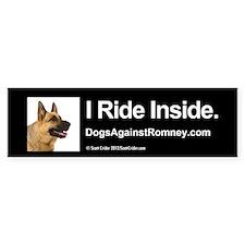 Bumper Sticker (German Shepherd)