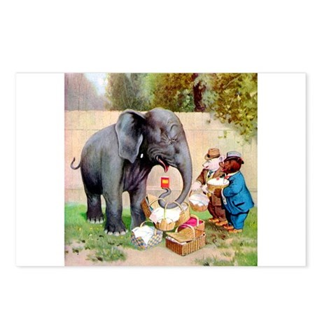 Roosevelt Bears and An Elephant Postcards (Package
