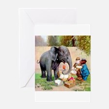 Roosevelt Bears and An Elephant Greeting Card