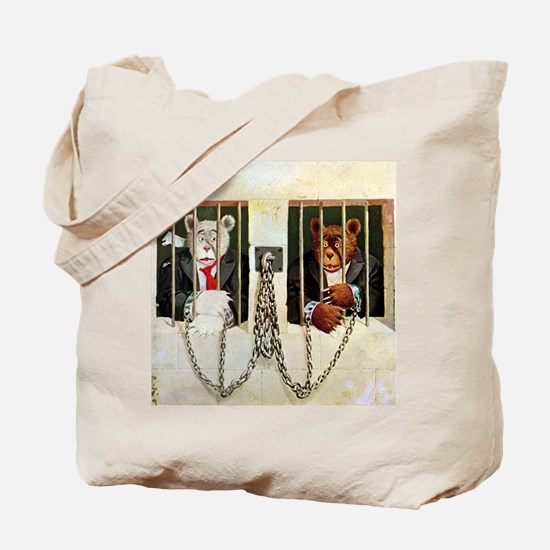 Roosevelt Bears in the Gulag Tote Bag